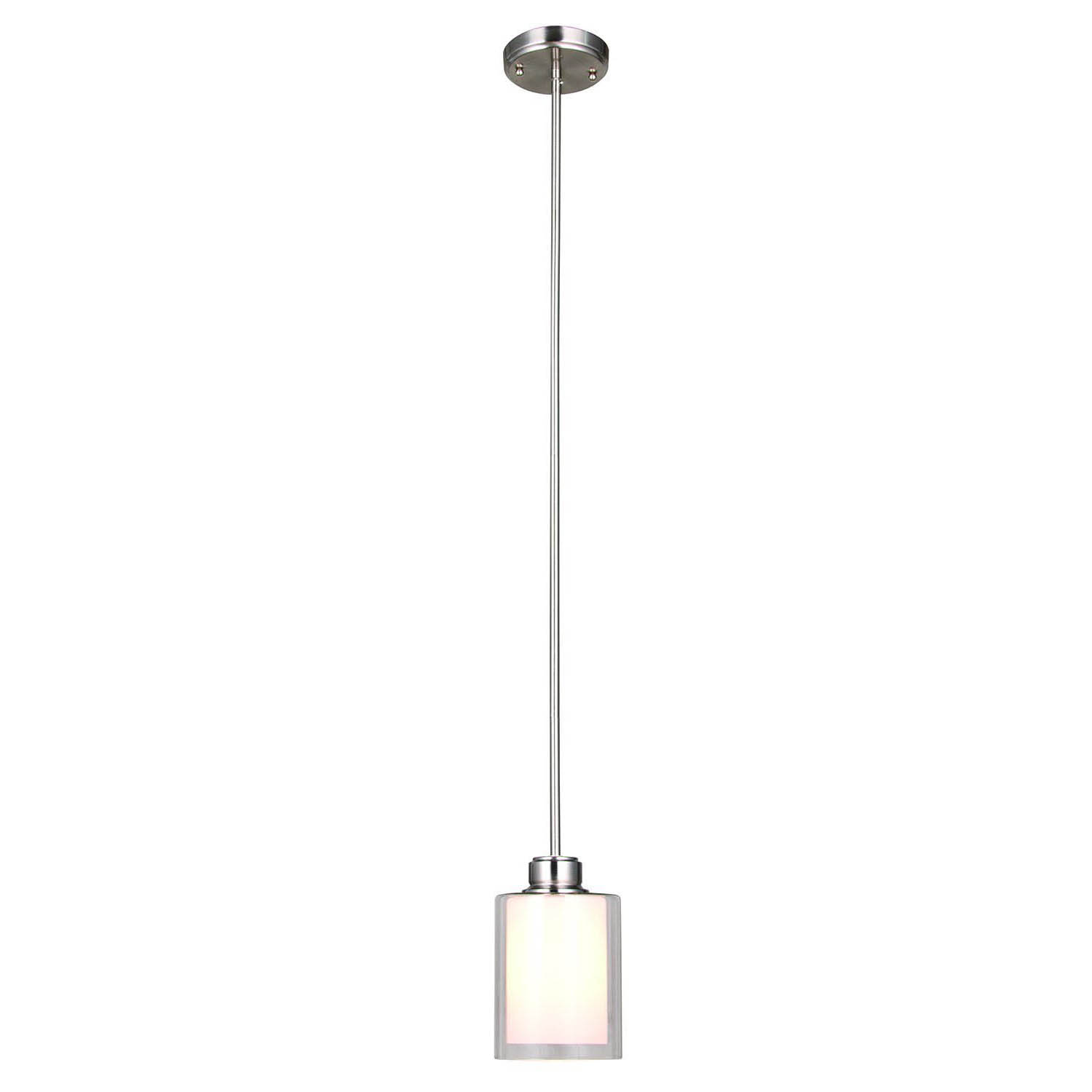 Design House Oslo Mini Light Pendant Brushed Nickel - 567214