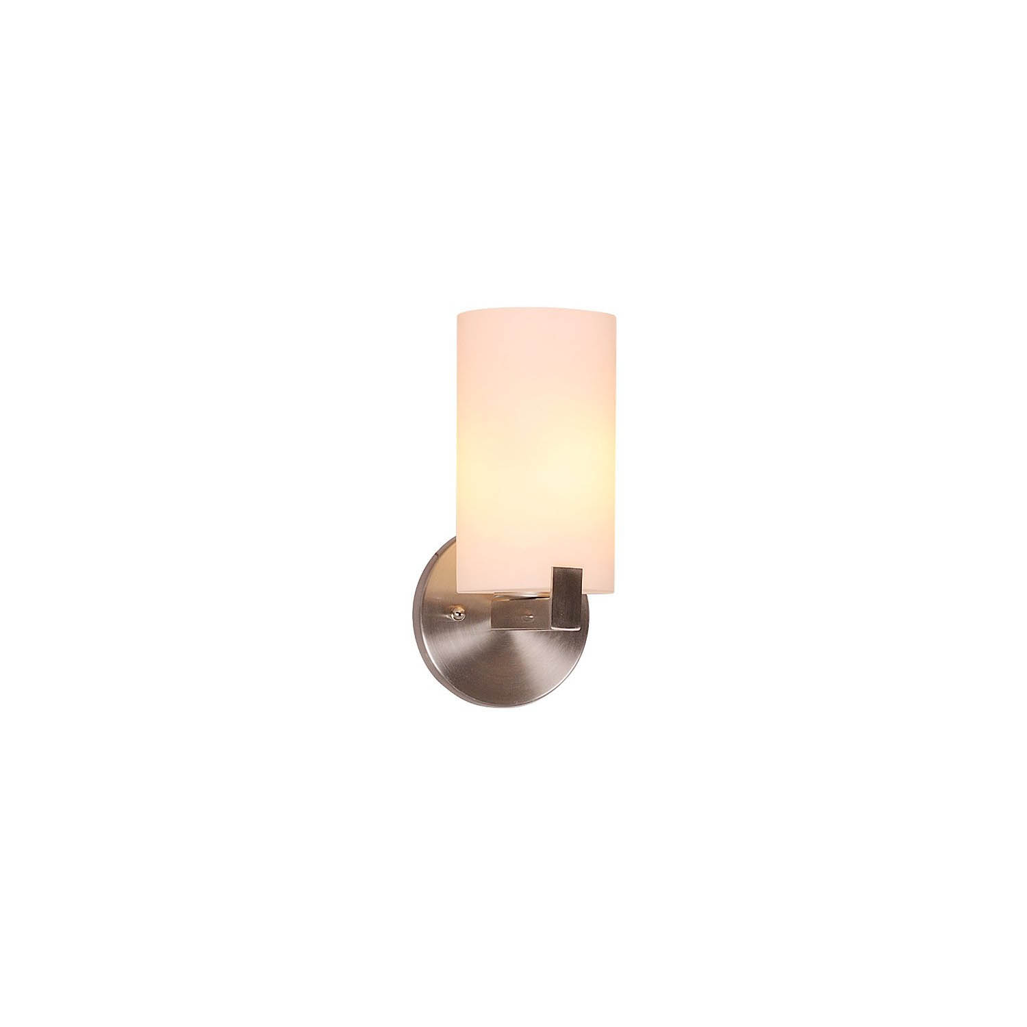 Design House Eastport 1 Light Indoor Wall Mount in Satin Nickel - 573154