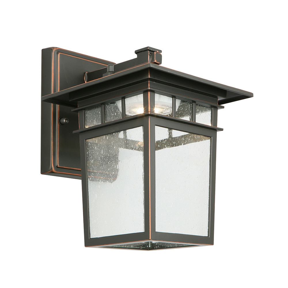 Design House Dayton LED Outdoor Wall Light, Oil Rubbed Bronze - 578401