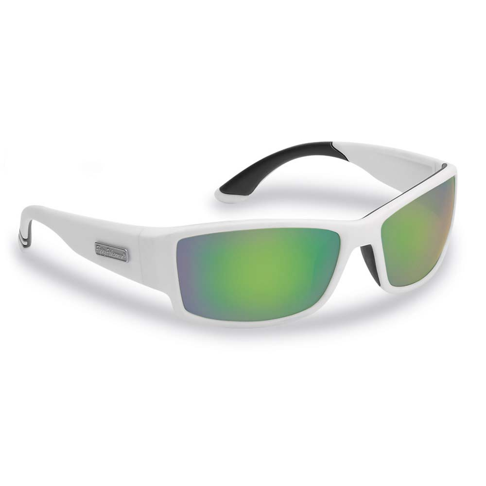 Flying Fisherman Razor Polarized Sunglasses, Matte White Frames ...