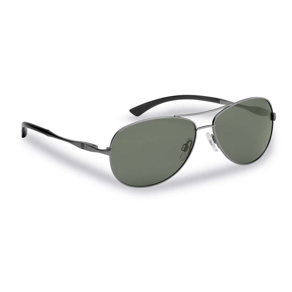 523a72cd46ea Flying Fisherman Madeira Polarized Sunglasses, Antique Gunmetal Frames,  Smoke Lenses | Great Brands Outlet
