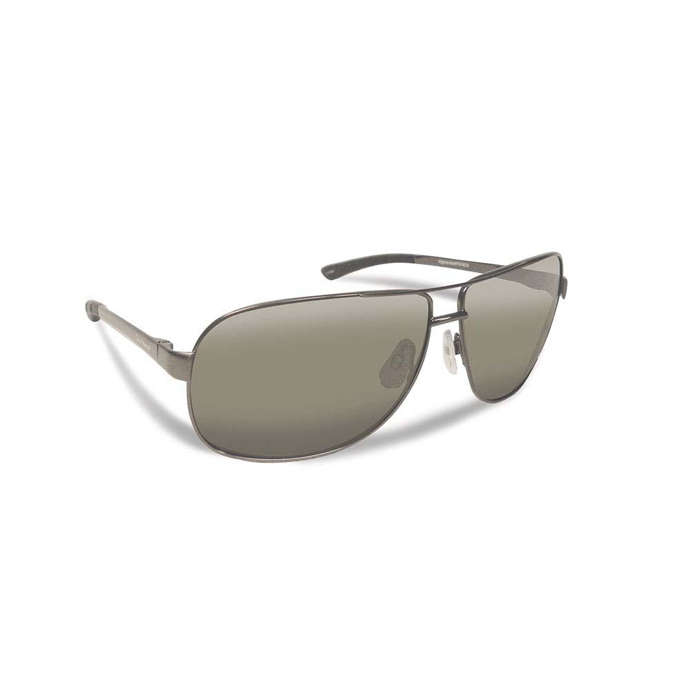 Flying Fisherman 7816GS Highlander Polarized Sunglasses, Gunmetal Frames With Smoke Lenses