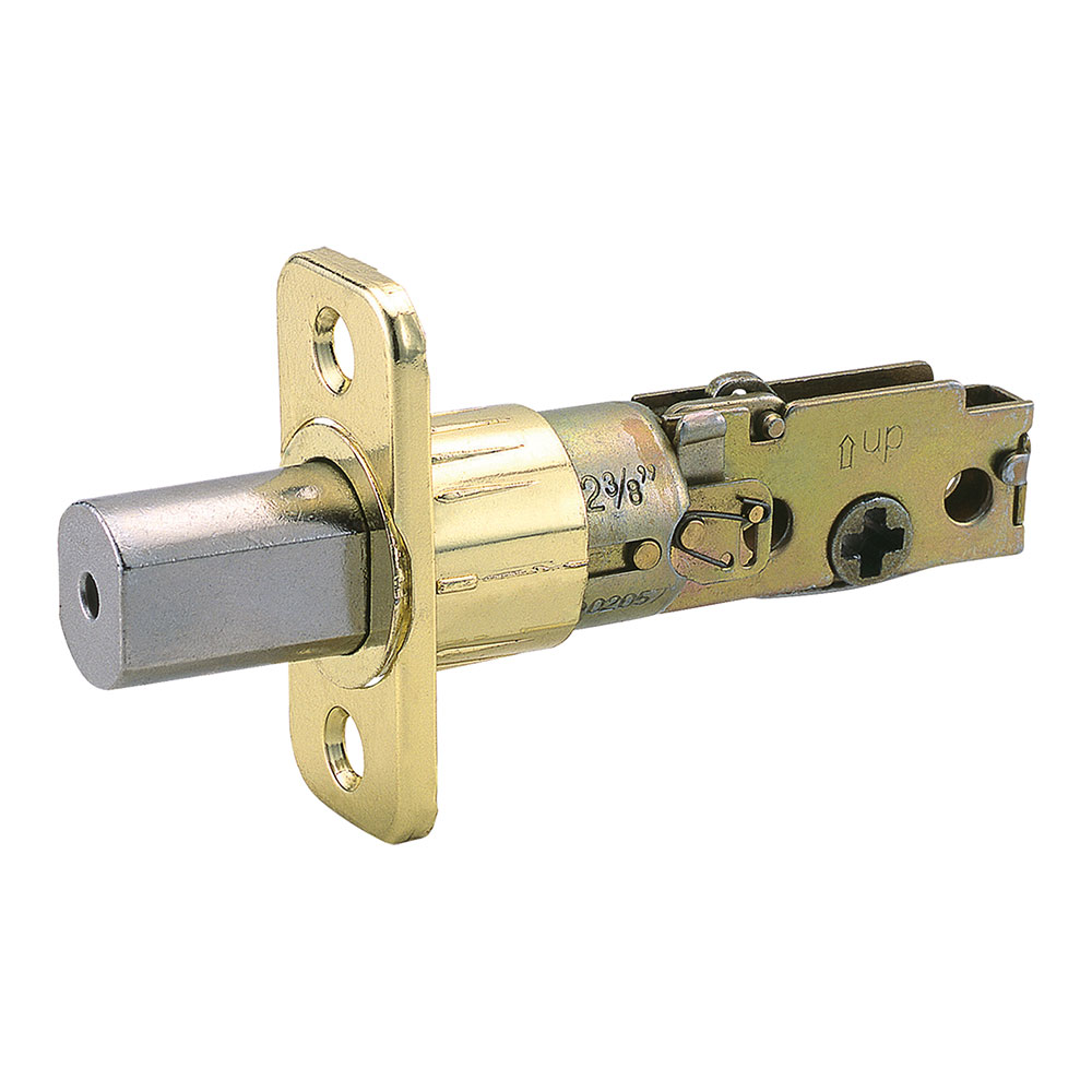 Design House Pro Deadbolt 6-Way Universal Lockset, Polished Brass - 783217