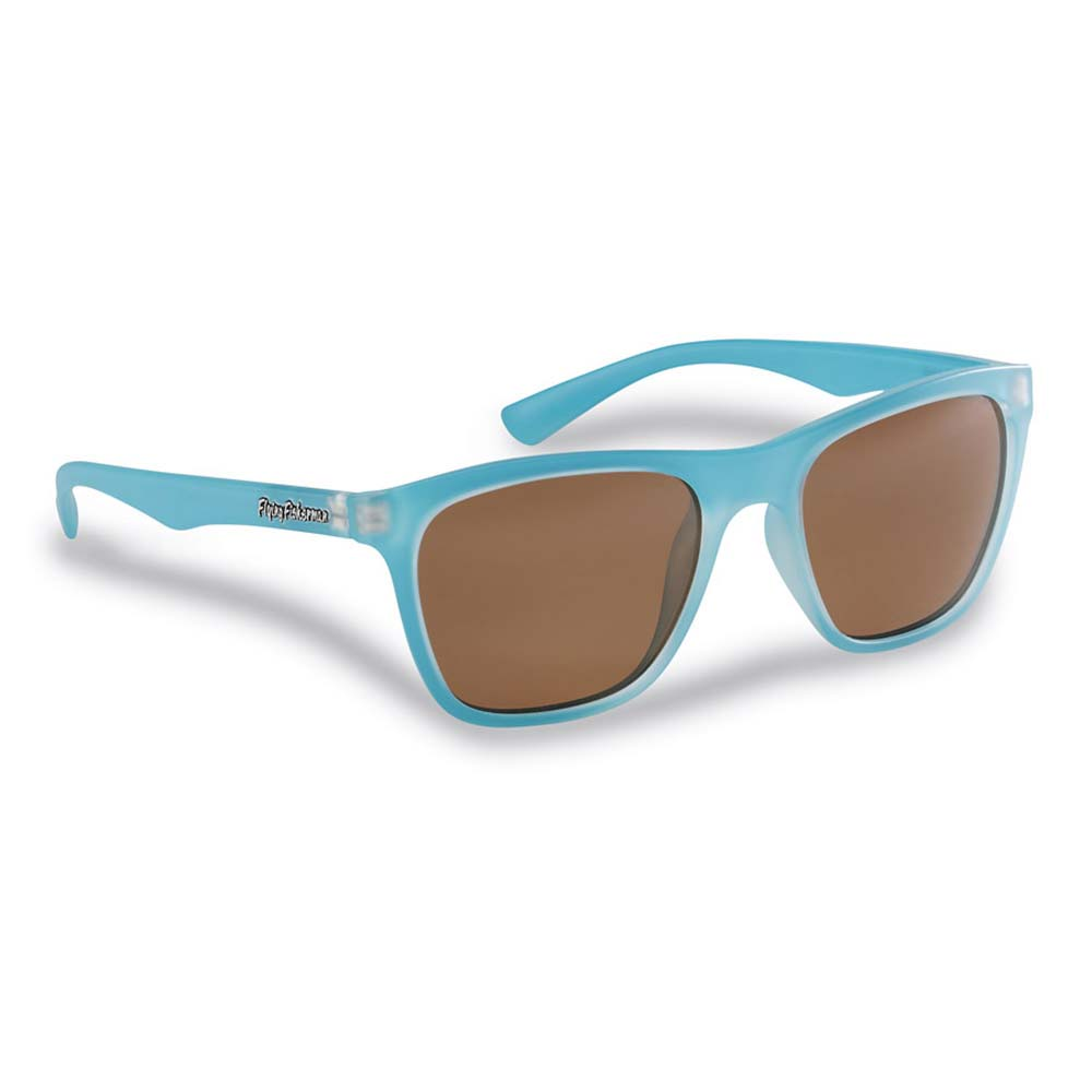 Flying Fisherman 7837AC Fowey Polarized Sunglasses, Azure Frame With Copper Lenses