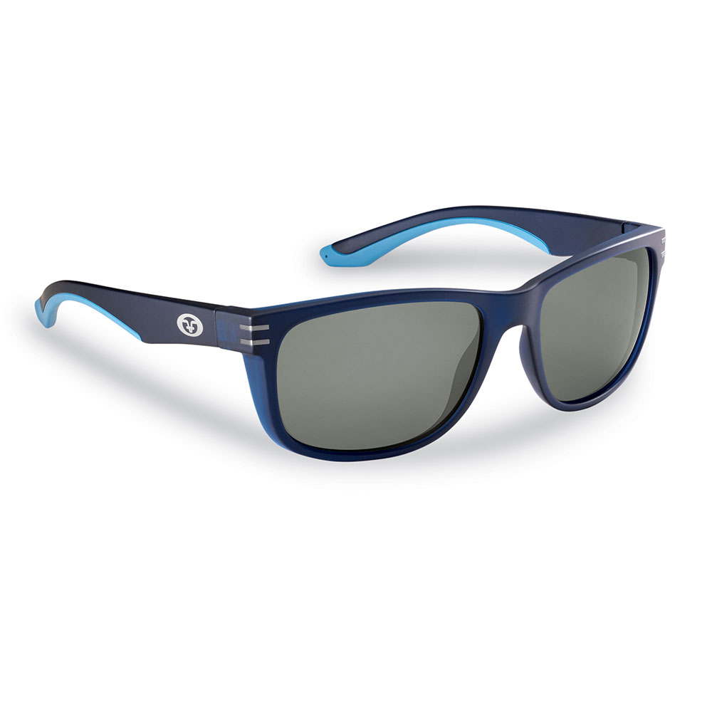 Flying Fisherman 7873NS Double Header Sunglasses, Navy Frames With Smoke Lenses