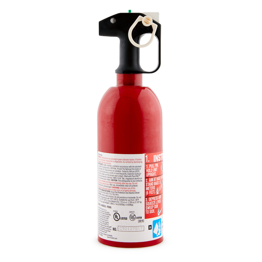 First Alert Auto Fire Extinguisher UL rated 5-B:C (Red) - AUTO5