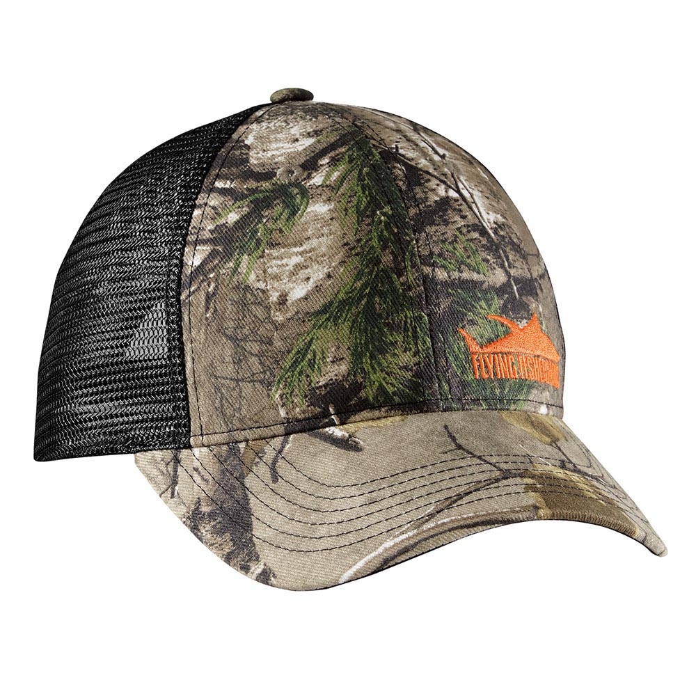 Flying Fisherman H1760 Tuna Camo Trucker Hat