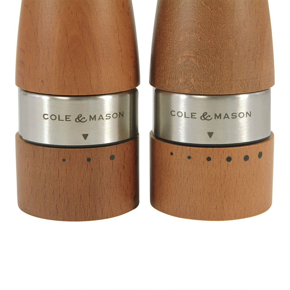 Cole & Mason Gourmet Precision Oldbury Gift Set - Dark Wood