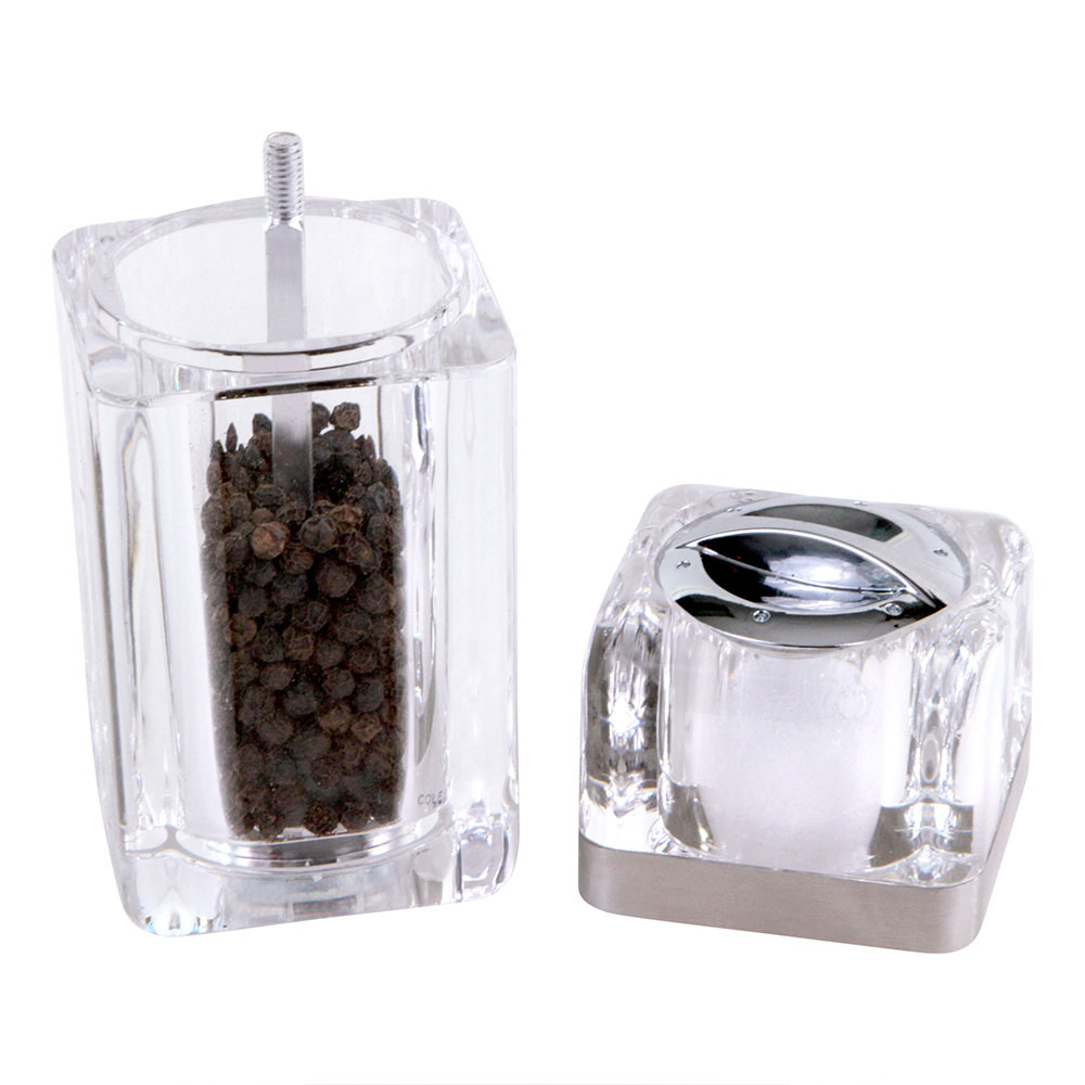 Cole & Mason Kempton Pepper Grinder and Shaker Combo Mill
