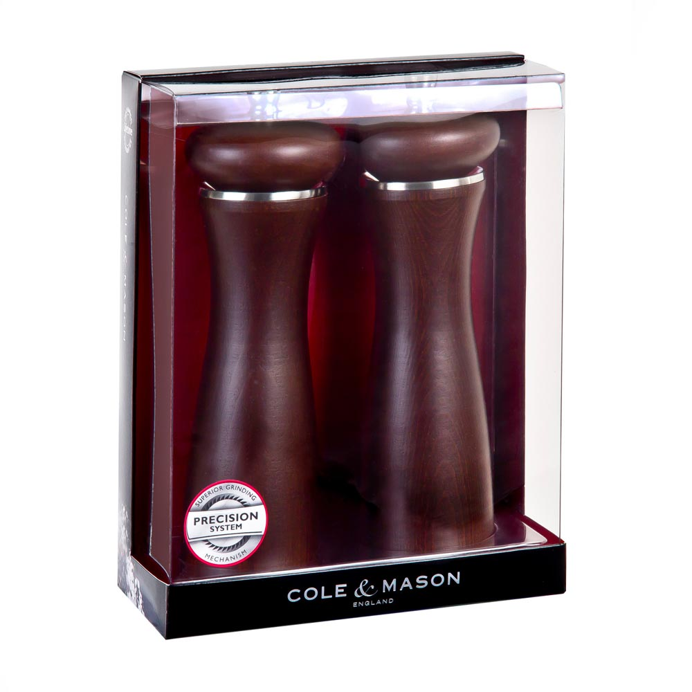 Cole & Mason 8 in. Sherwood Forest Salt & Pepper Mill Gift Set
