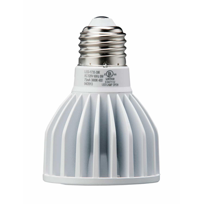Light Efficient Design Led 1735 30k B Bulb Par20 8w 50w