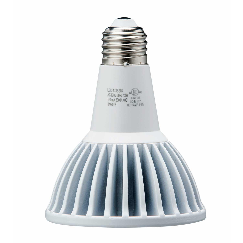 light efficient design led 1736 50k b bulb par30 13w 75w replacement great. Black Bedroom Furniture Sets. Home Design Ideas