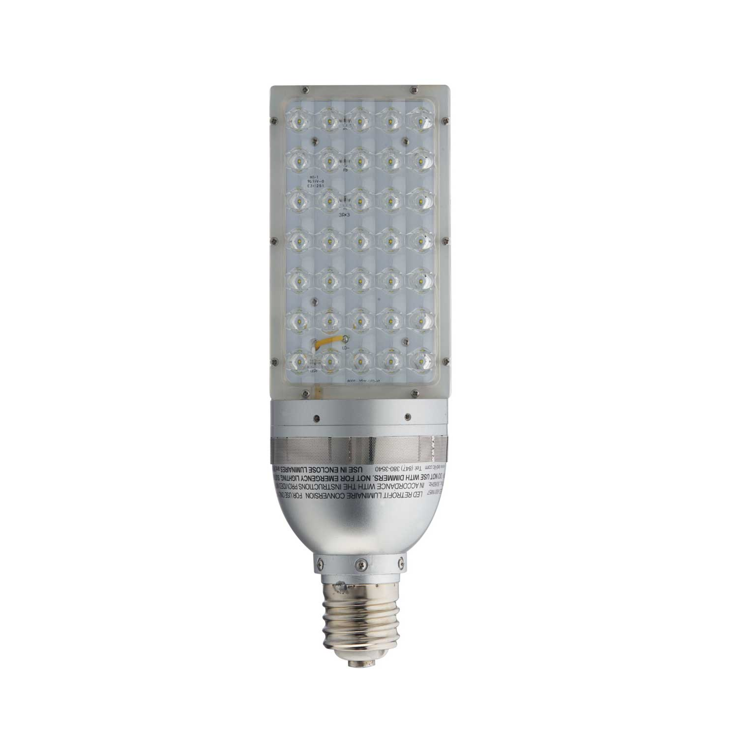 Led Lamps For Wall Packs : Light Efficient Design Led-8001M57 Bulb 35W Pole Top/Wall Pack Great Brands Outlet