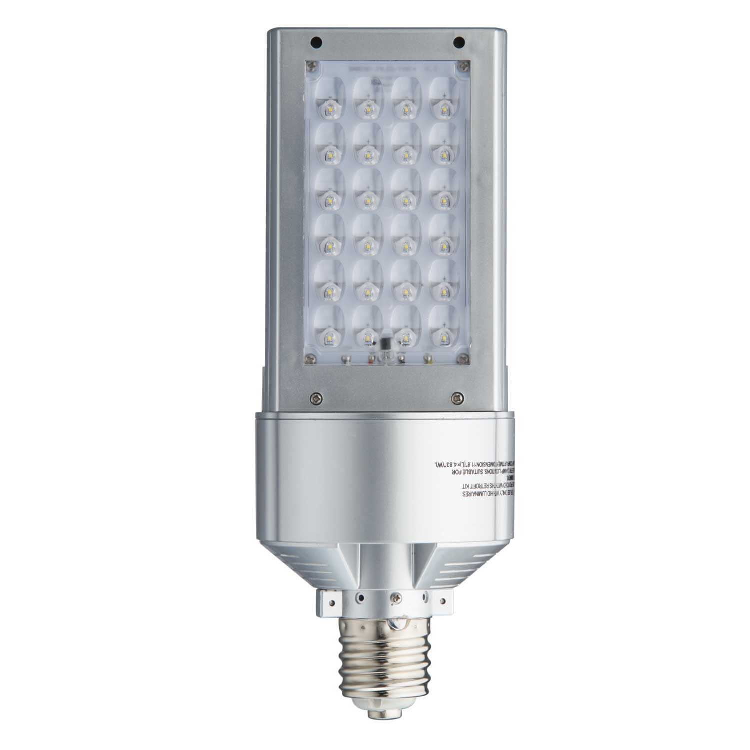 Led Lamps For Wall Packs : Light Efficient Design Led-8090M5T4 Bulb 120W Shoebox/Wall Pack Type Iv Optics Great Brands Outlet