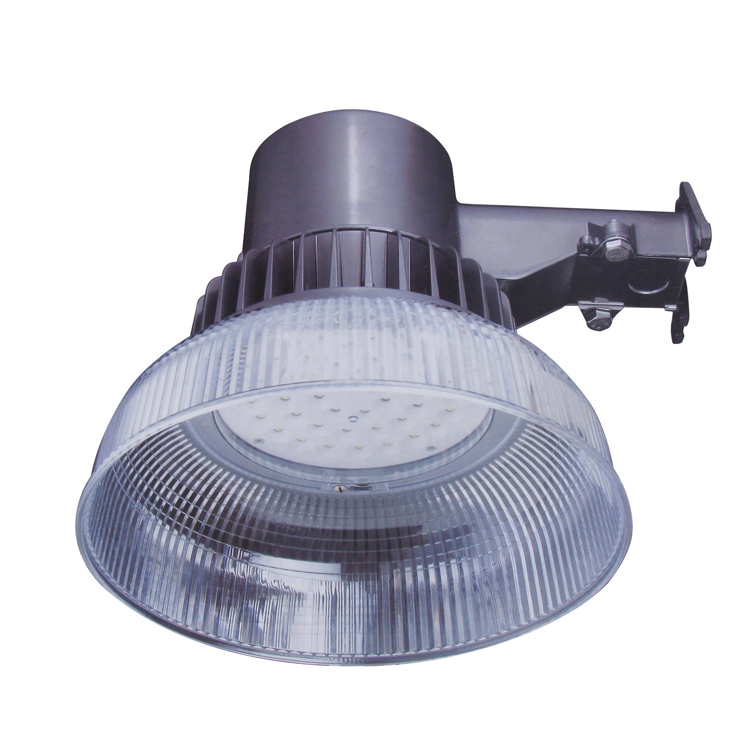 Double Insulated Outdoor Security Lights: Honeywell LED Security Light In Aluminum Construction