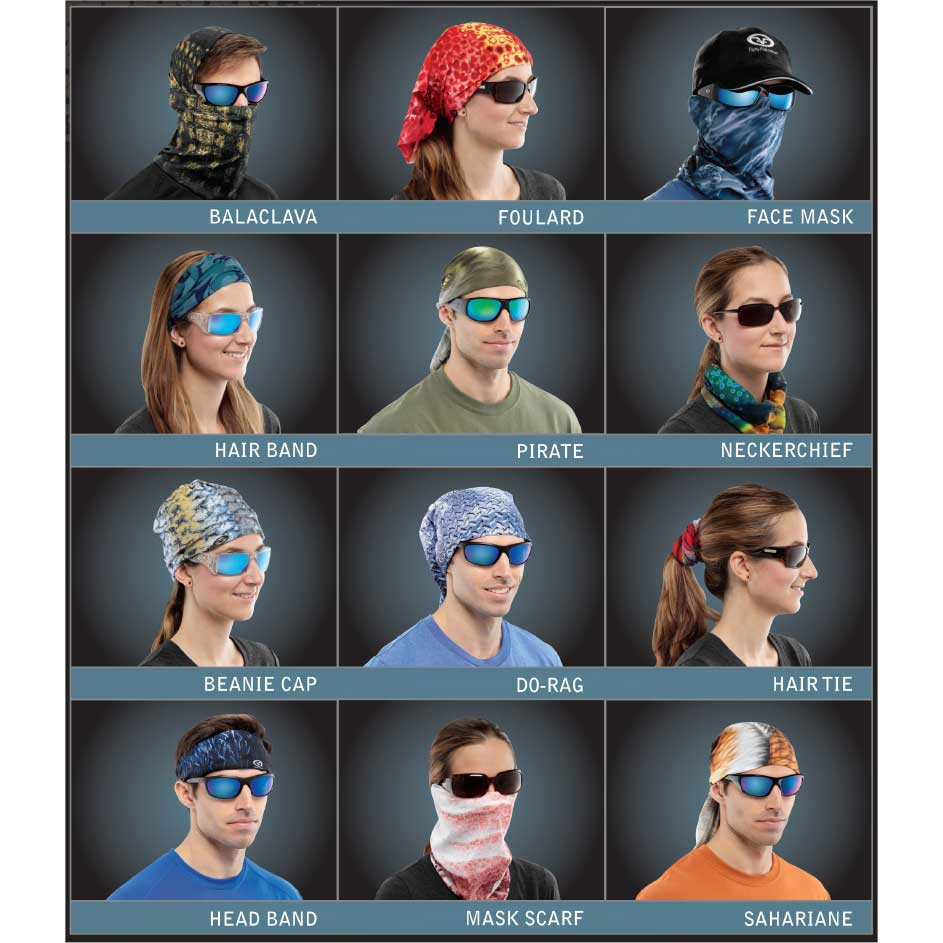 Flying Fisherman SB1686 Diamond Plate Sunbandit Head & Face Wear