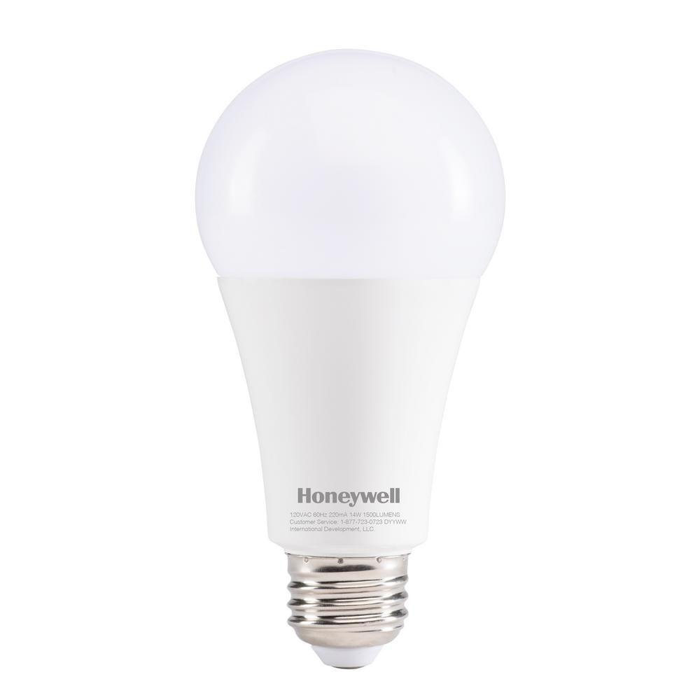Honeywell 100W Equivalent Daylight White A21 LED Light Bulb, A210050HB110