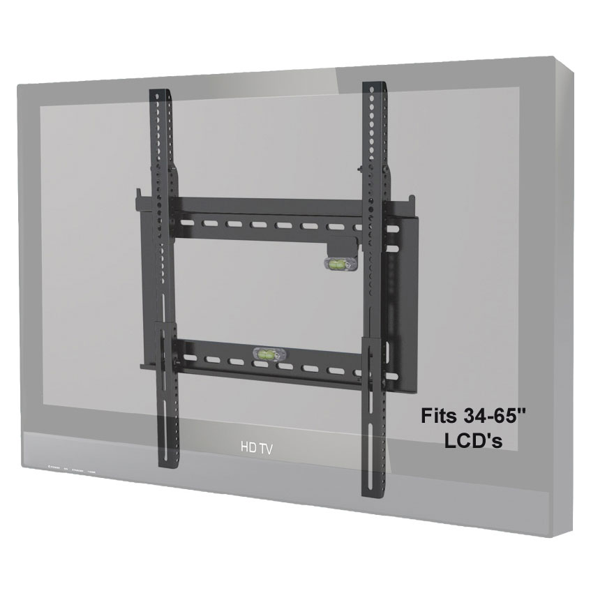 Levelmount Dc65adlp Xl Fixed Tv Wall Mount For 26 85 Inch