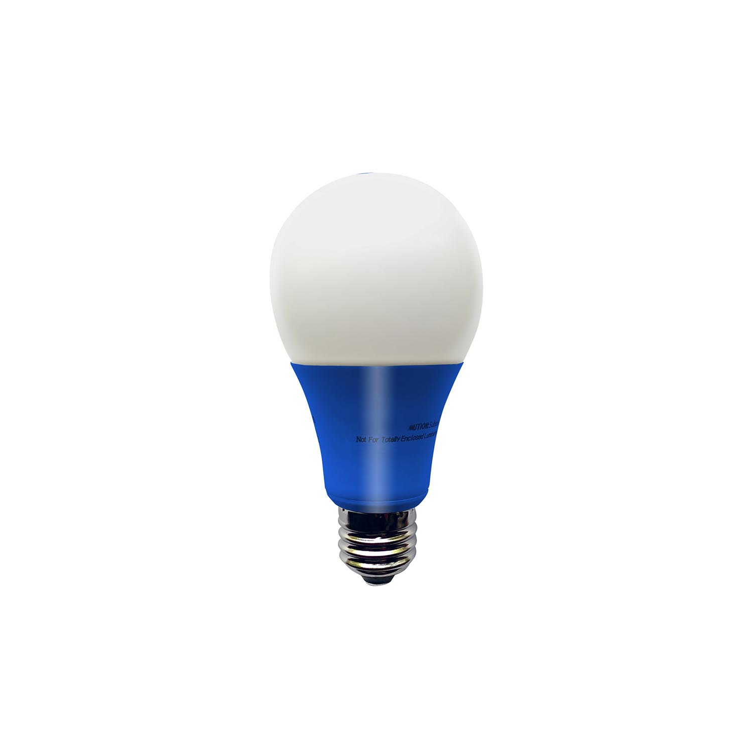 illumin8 i8a deco blue a19 led light bulb non dimmable 4 5 watt great brands outlet. Black Bedroom Furniture Sets. Home Design Ideas