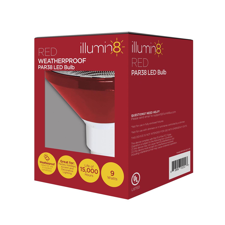 illuminat8 colored indoor & outdoor led light bulbs