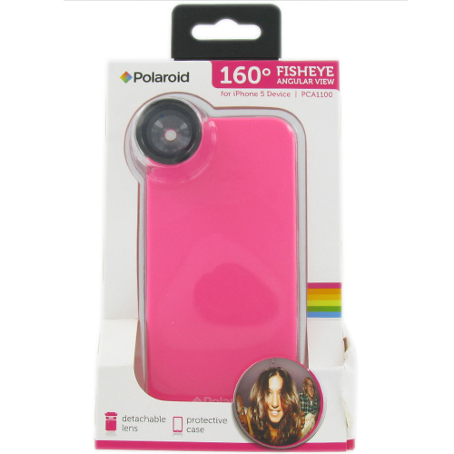 polaroid attachment for iphone polaroid fisheye lens attachment for the iphone 5 pink 8890