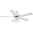 Design House Millbridge 52-Inch 3-Light 5-Blade Ceiling Fan - 153965