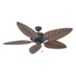 Design House Martinique 52-Inch 5-Blade Ceiling Fan, Chestnut Blades - 154104