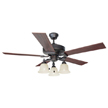 Design House Ironwood 52-Inch 3-Light 5-Blade Ceiling Fan - 154112