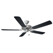Design House 154146 Millbridge 52-Inch 5-Blade Ceiling Fan, Black Blades