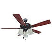Design House 154245 Torino 52 in. Ceiling Fan in in Brushed Bronze