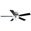 Design House Millbridge 52-Inch 3-Light 5-Blade Hugger Mount Ceiling Fan-156018