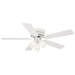 Design House Millbridge 52-Inch 3-Light 5-Blade Hugger Mount Ceiling Fan-156596