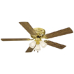 Design House Millbridge 52-Inch 3-Light 5-Blade Hugger Mount Ceiling Fan-156604