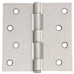 Design House 202606 8-Hole Square Door Hinge, 4-Inch by 4-Inch