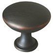 Design House 203901 Midtown Door and Cabinet Knob, Oil Rubbed Bronze Finish