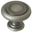Design House 203943 Town Square Door and Cabinet Knob, Rustic Pewter Finish