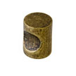 Design House 205120 Barrel Cabinet Knob, Antique Brass