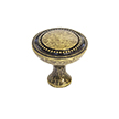 Design House 205229 Regal Cabinet Knob, Antique Brass