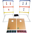 Yolo Sports Ultimate Toss Duo, Ladder Toss & Cornhole - 207107