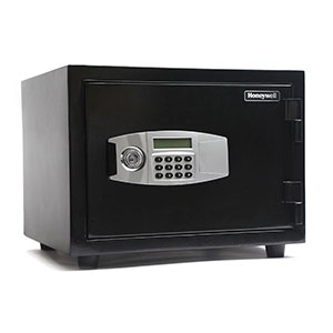 Honeywell 2114 Fire & Water Resistant Steel Security Digital Safe (1.07 cu ft.)