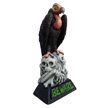 Design House 28.25 in. LED Beware Vulture Light-Up Lawn Halloween Decoration