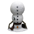 Design House Upside Down Snowman Lawn Holiday Christmas Decoration