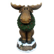 Design House 23 in. LED Merry Christmas Moose with Wreath Light-Up - 319749