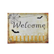Design House Welcome Halloween Lit Canvas Wall Decoration