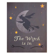 Design House The Witch is In Lit Canvas Halloween Wall Decoration