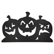 Design House Black Pumpkin Silhouettes Lawn Halloween Decoration