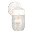 Design House 500181 Jelly Jar Outdoor Downlight, 4.5-Inch by 7.5-Inch