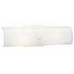 Design House 501452 2-Light Wall Sconce, White Finish