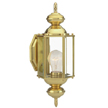 Design House Augusta Outdoor Uplight, 5.5inch by 14.375inch, Solid Brass - 501692