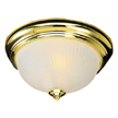 Design House 502096 1-Light Ceiling Mount, Polished Brass Finish